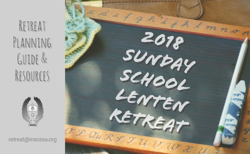 2018 Lenten Retreat Guide